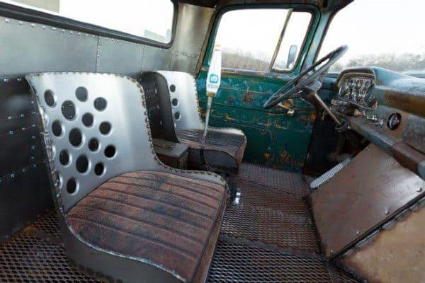 Seats Rat Rod Interor Ideas