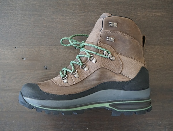 Second Side View Mens Leather Danner Crag Rat Hiking Usa Made Boots
