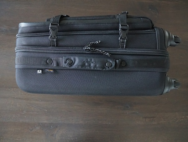 Second Side With Pull Handle Black Ogio Alpha Convoy 522s Travel Bag