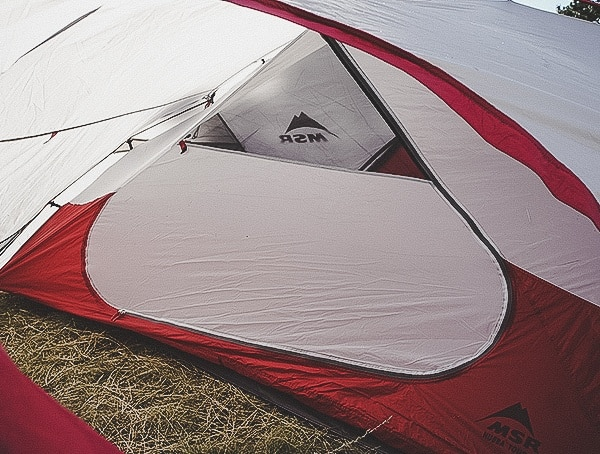 Secondary Interior Door Msr Hubba Tour 3 Tent