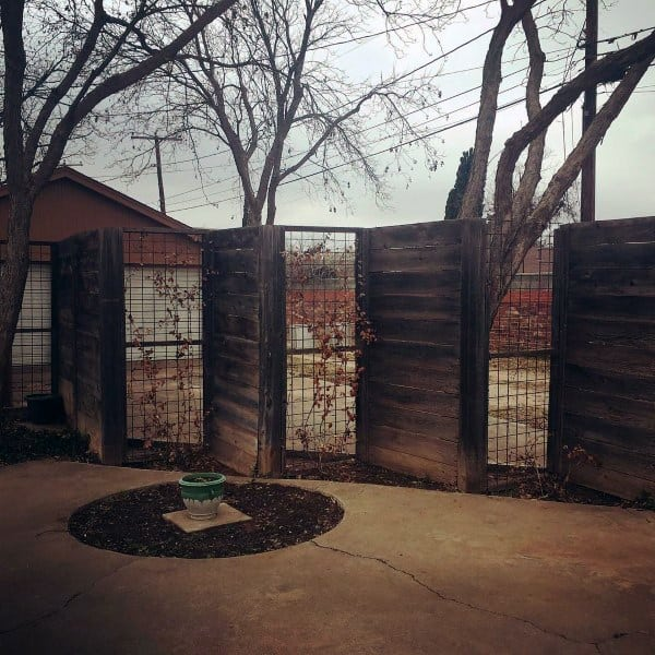 See Through Backyard Dog Fence