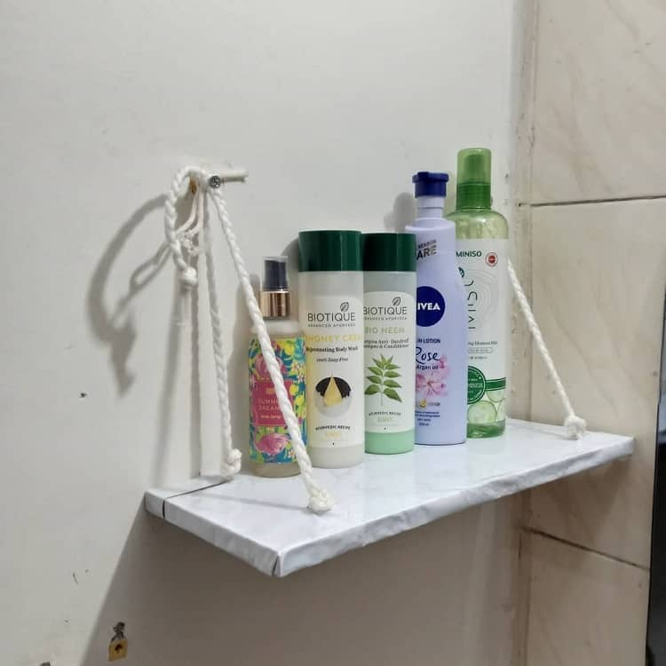 Selfcare Diy Bathroom Shelf Storesnstyles