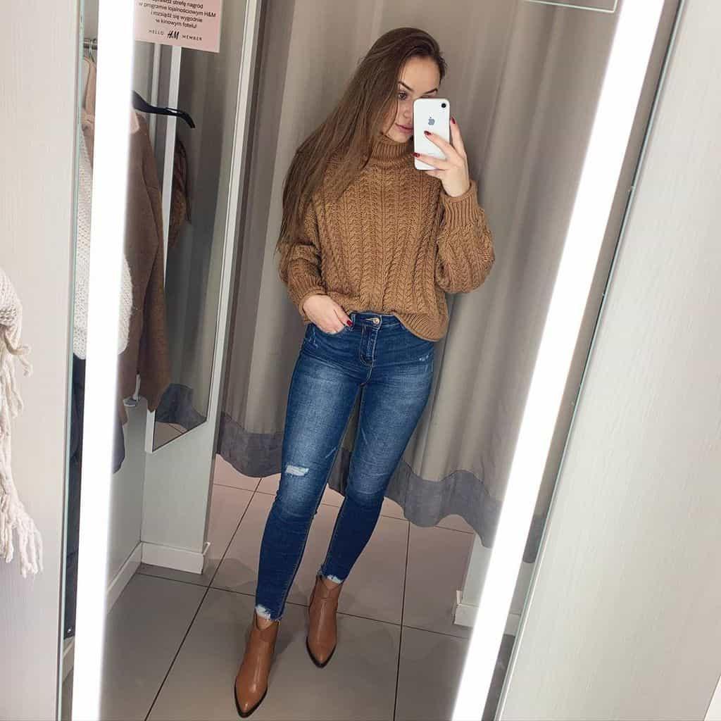 Selfie Polish Girl Basic Style