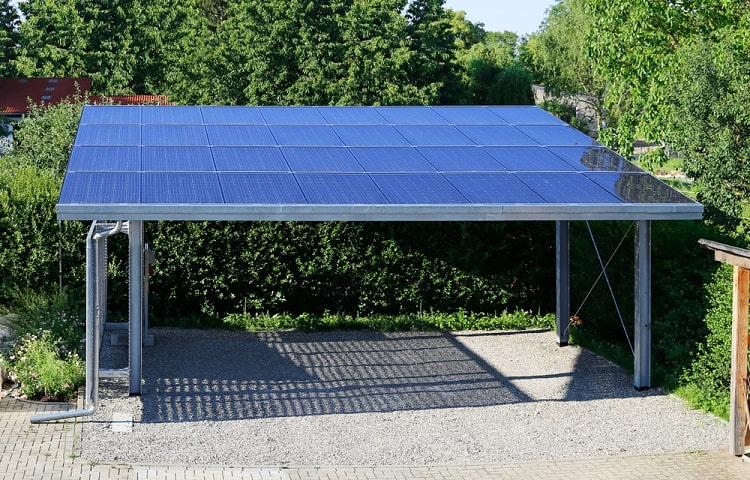 Semi Transparent Solar Carport Ideas