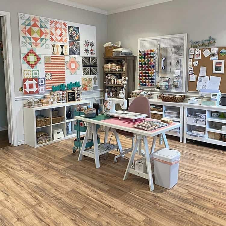 Sewing Room Organization Craft Room