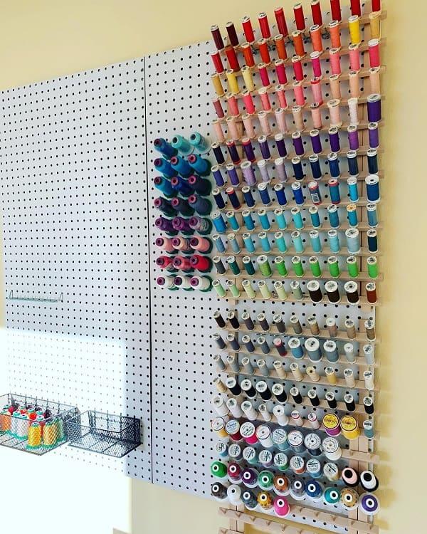 Sewingroom Organization Craft Room