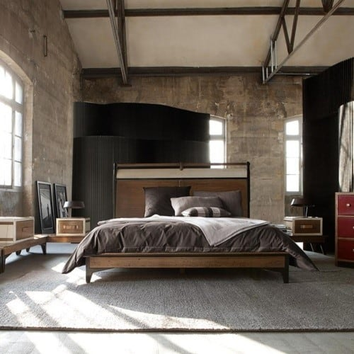 Masculine Interior Decorating: 20 Masculine Men's Bedroom Designs