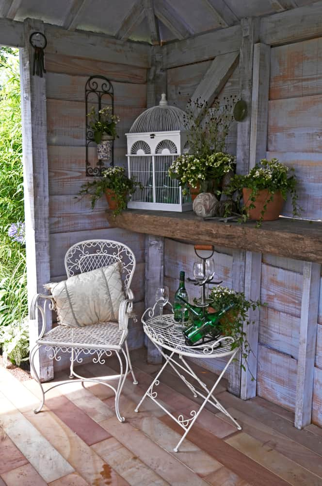 Shabby Chic She Shed Ideas (1)