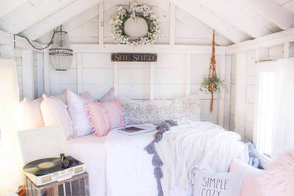 Shabby Chic She Shed Ideas Simplecozycharm
