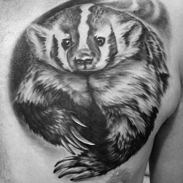 Honey badger tattoo