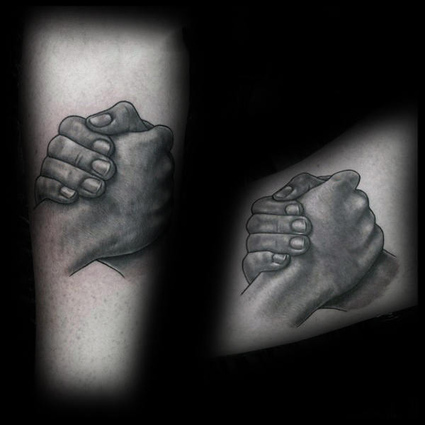 60 Handshake Tattoo Designs For Men – Symbolic Ink Ideas recommend