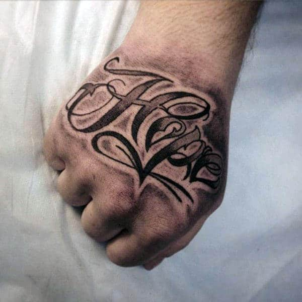 Hand Tattoos For Men Words Money Rose Mens Hand Piece Best