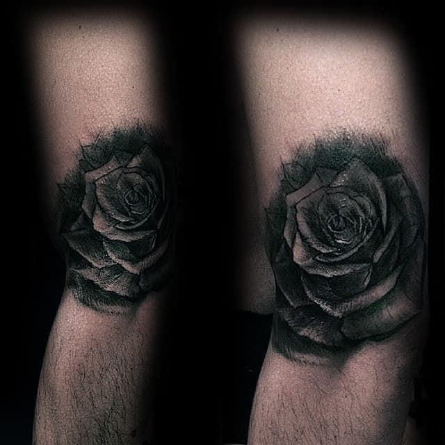 nextluxury shaded 4 black and grey rose tattoos