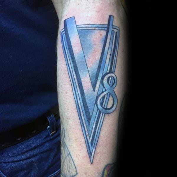 More Than 60 Best Tattoo Designs For Men In 2015: 40 V8 Tattoo Designs For Men