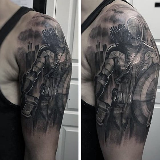 Tattoo Half Sleeve Ideas Black And Grey