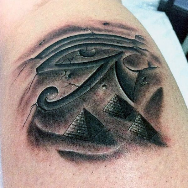 eye of horus pyramid