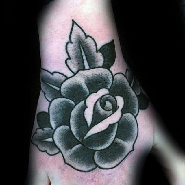nextluxury shaded 5 black and grey rose tattoos