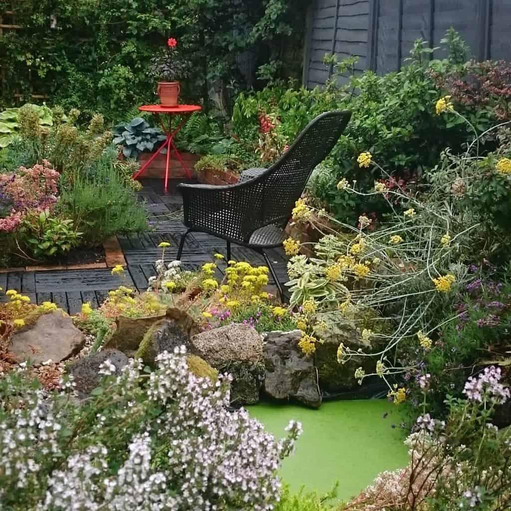 shaded patio shade garden ideas dingdinggardens