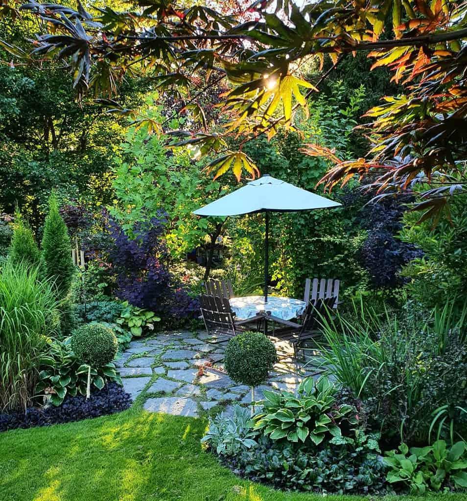 shaded patio shade garden ideas helena.karlanda