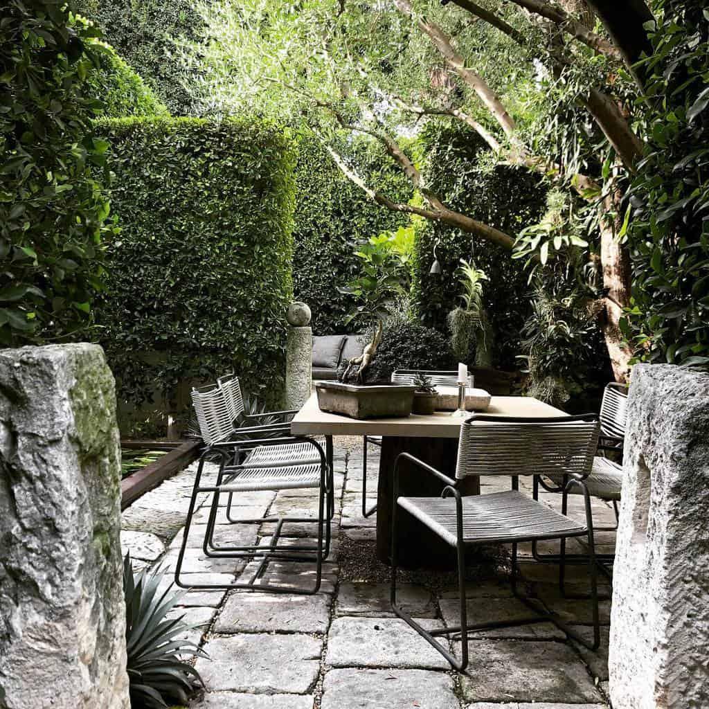 shaded patio shade garden ideas scott_shrader