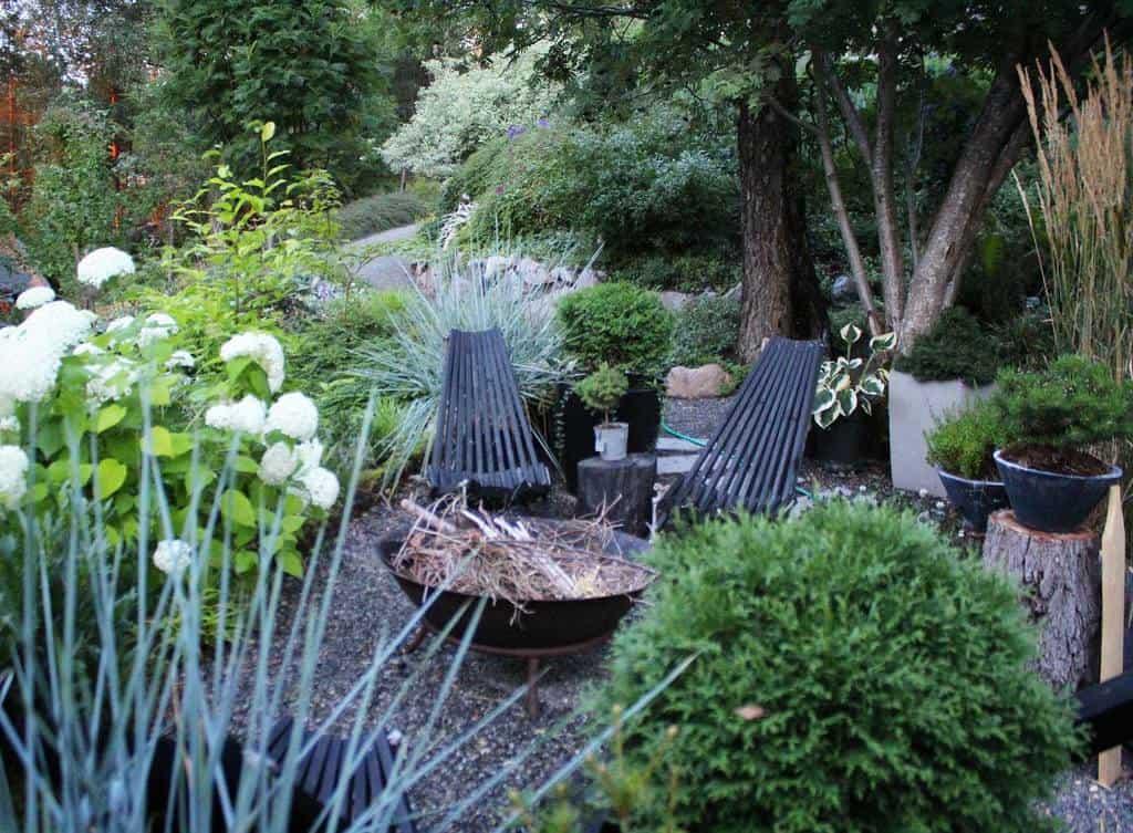 shaded patio shade garden ideas themoosegarden