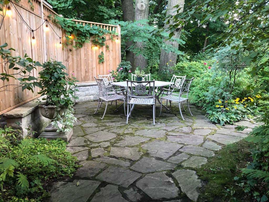 shaded patio shade garden ideas urban.secret.gardens