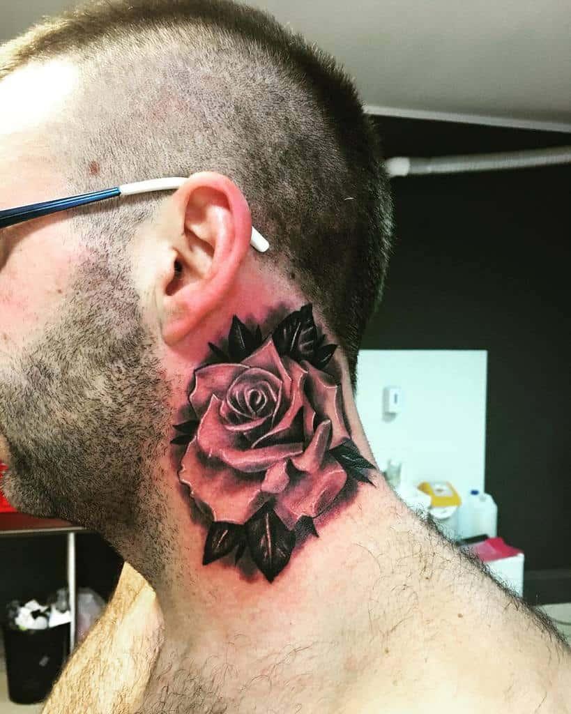 shaded rose neck tattoos gentleman_tattoo_club