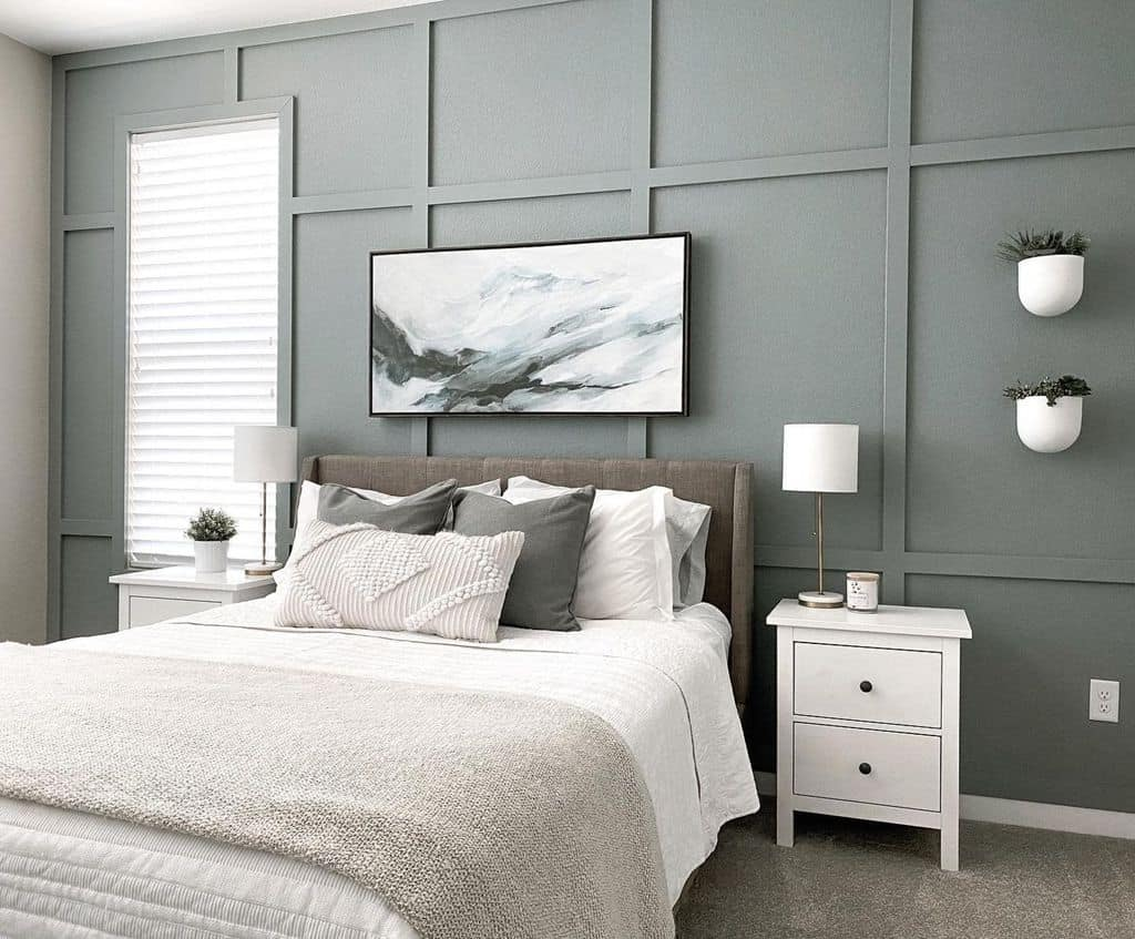 Shades Of Grey Bedroom Paint Colors Abstratman