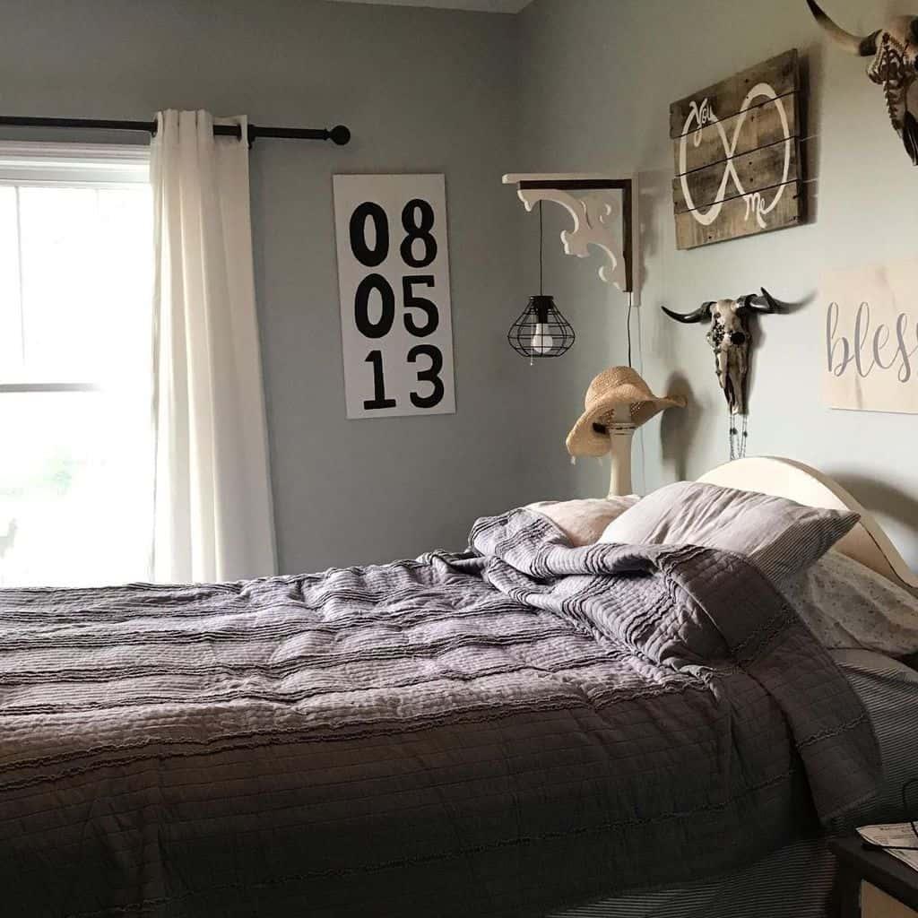 Shades Of Grey Bedroom Paint Colors Beechlog Farmhouse