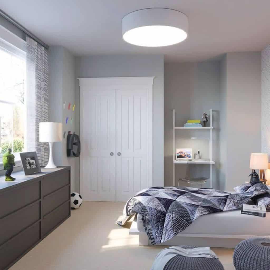 Shades Of Grey Bedroom Paint Colors M.r.bordeninteriors