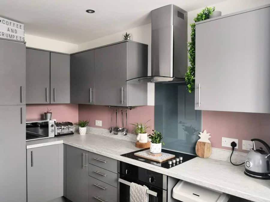 Shades Of Grey Kitchen Paint Colors Our Eclectic Townhouse