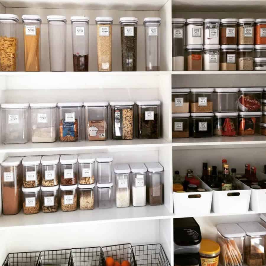 Shallow Pantry Shelving Ideas