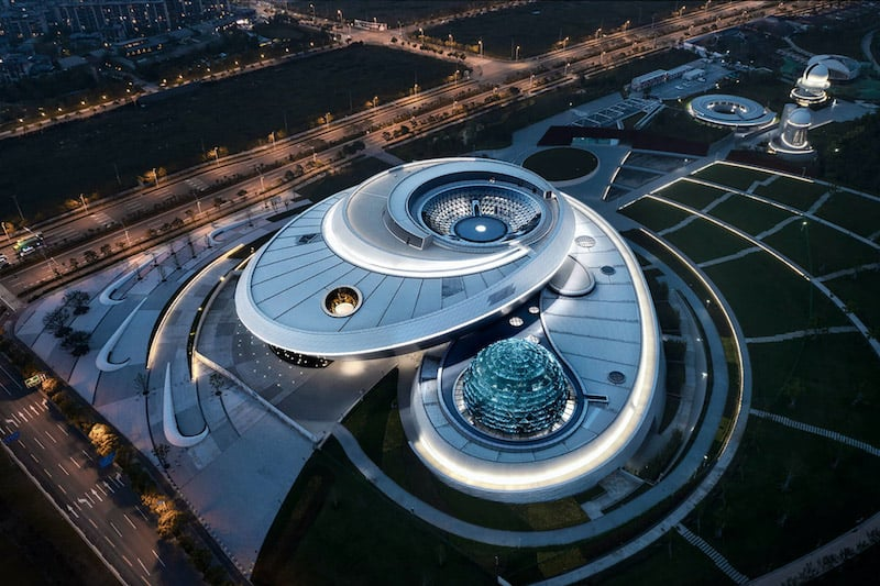 Shanghai Astronomy Museum Opens as Largest in World