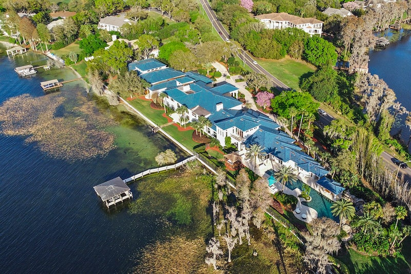 Shaq's Super-Sized Florida Mansion Is Back on the Market