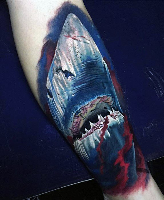 Shark Greatest Tattoo Designs For Males
