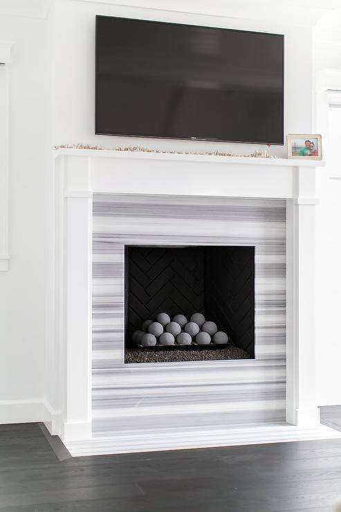 Sharp Fireplace Mantel Design