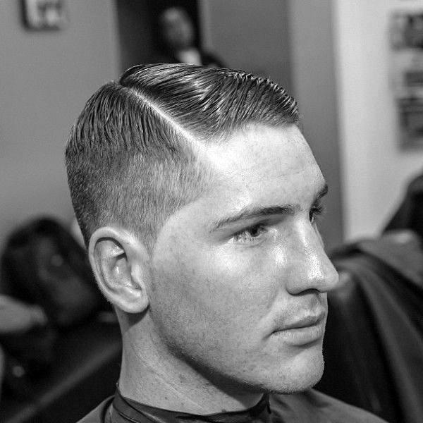 Sharp Hair Comb Over For Gentlemen