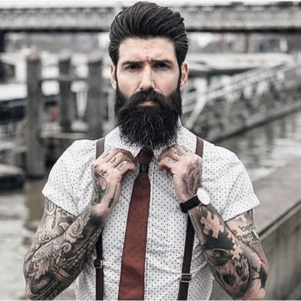 Enjoyable 60 Manly Beards For Men Striking Facial Hair Styles Short Hairstyles Gunalazisus