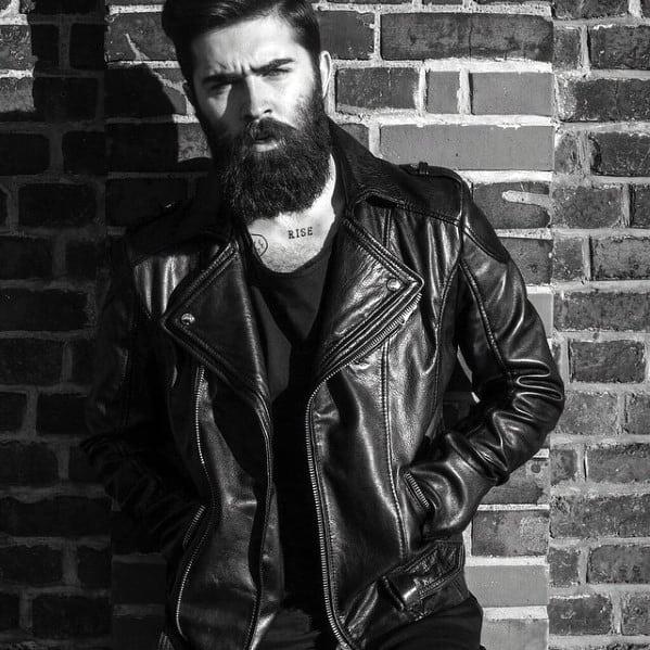Groovy 60 Manly Beards For Men Striking Facial Hair Styles Short Hairstyles Gunalazisus