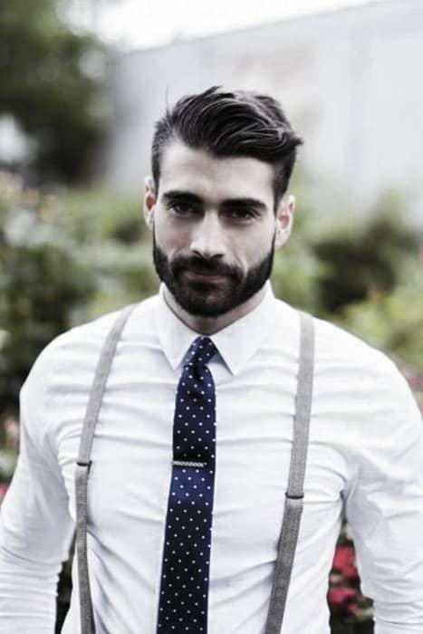 Sharp Mens Classy Beard Styles