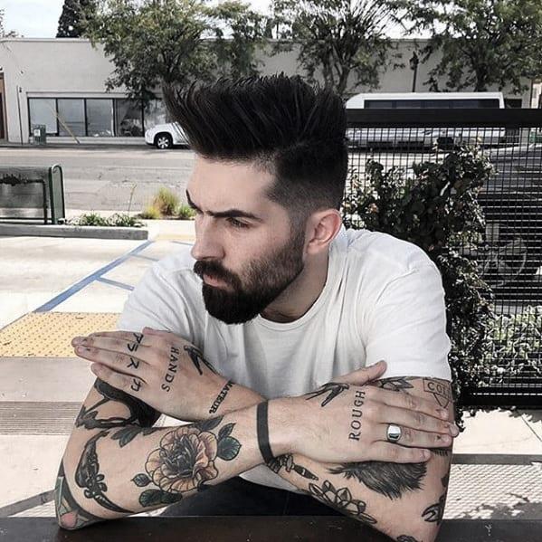 Sharp Mens Medium Beard Styles