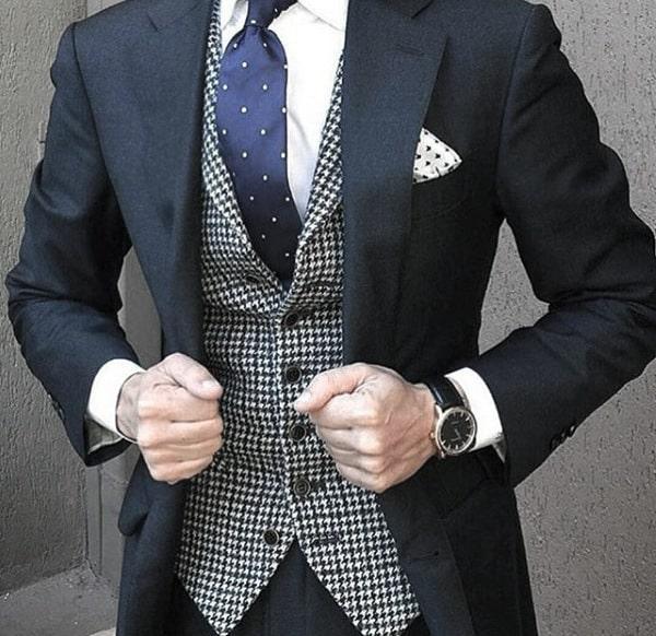 Sharp Mens Navy Blue Suit Styles