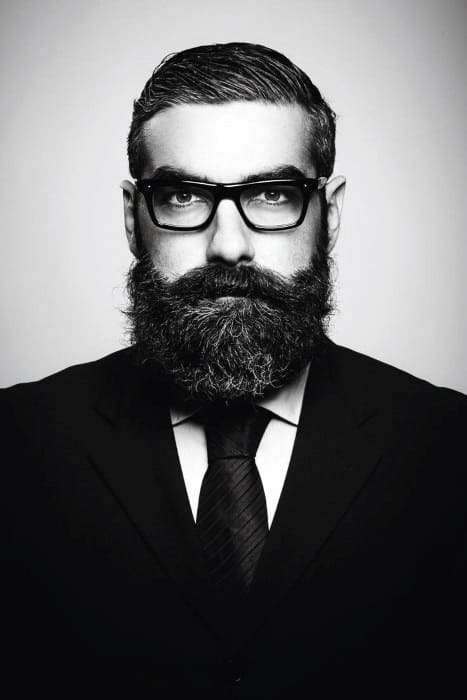 Sharp Mens Professional Beard Styles