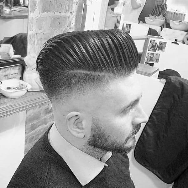 Sharp Mens Skin Fade Hair Cut