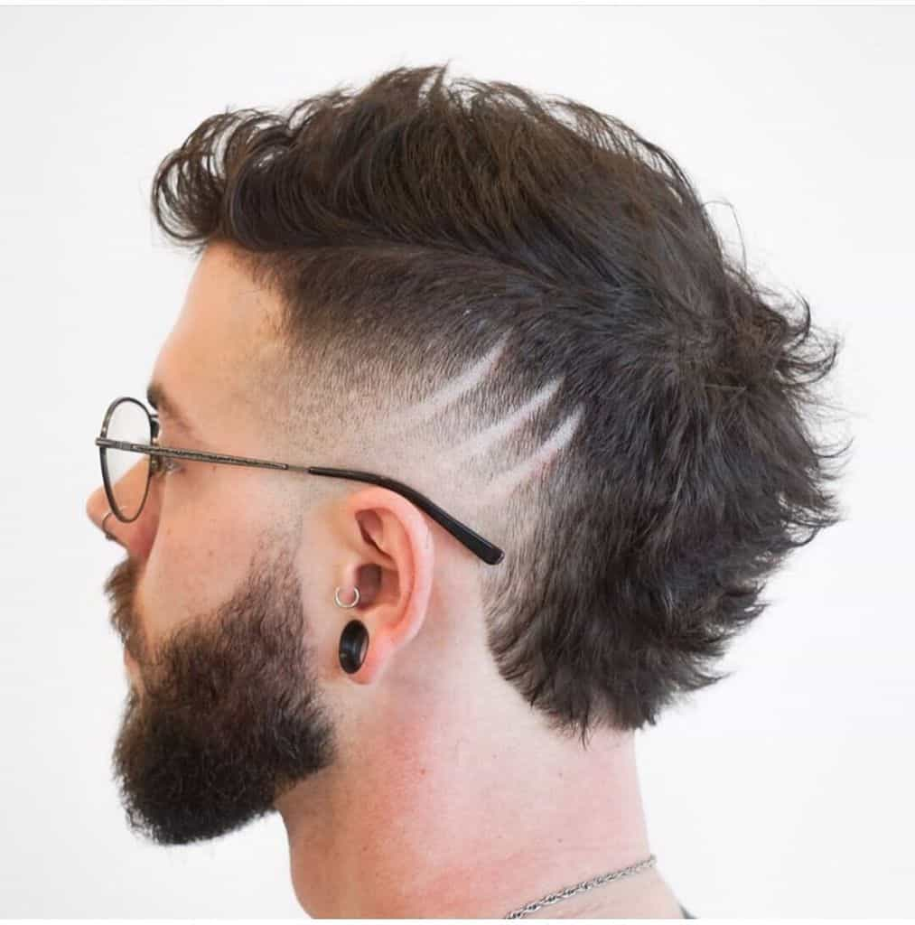 Sharp Mohawk Hairstyle