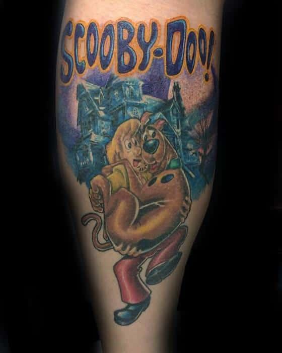 Sharp Scooby Doo Male Tattoo Ideas