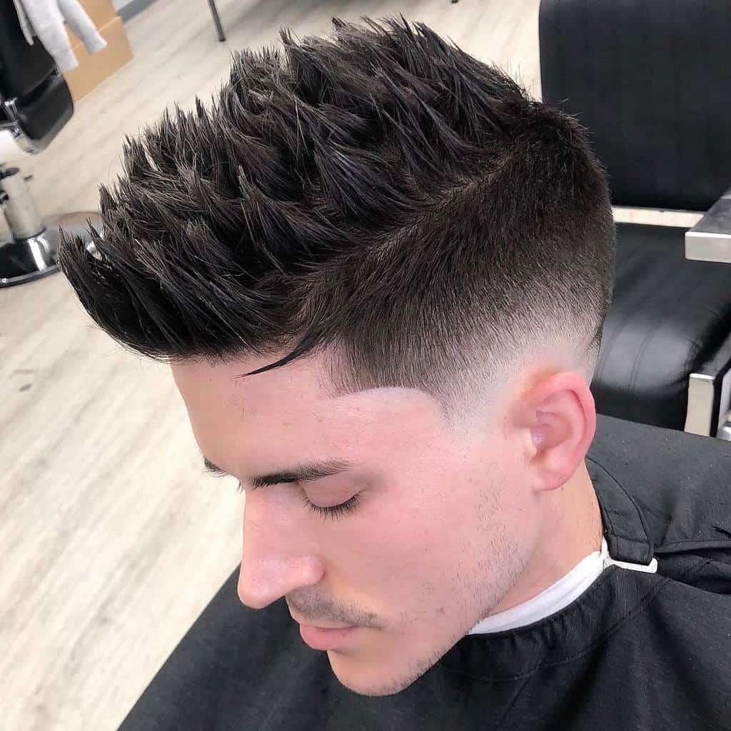 Sharp Spiky Hair Cut