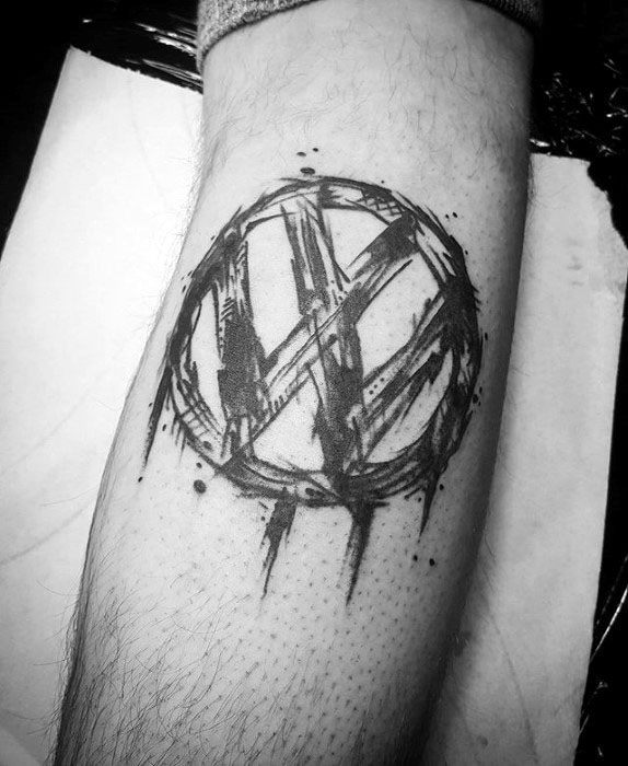 Sharp Volkswagen Wv Male Tattoo Ideas
