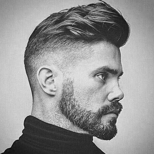 Shave On The Side Hairstyles For Men