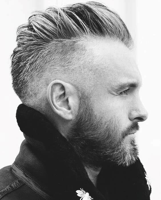 Shaved Sides Male Stylish Haircuts Inspiration